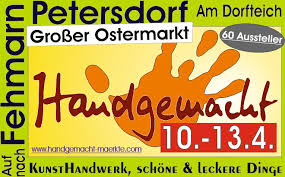 Ostermarkt in Petersdorf / Fehmarn