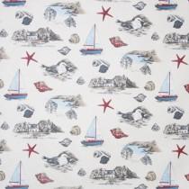 Kissenhülle Maritim Segelboot