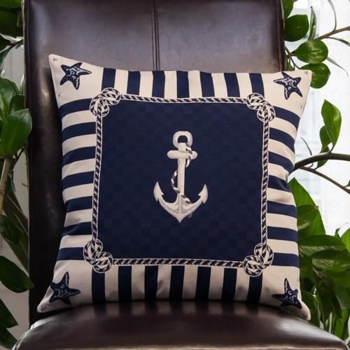 kissenh lle maritim anker blau neckels. Black Bedroom Furniture Sets. Home Design Ideas