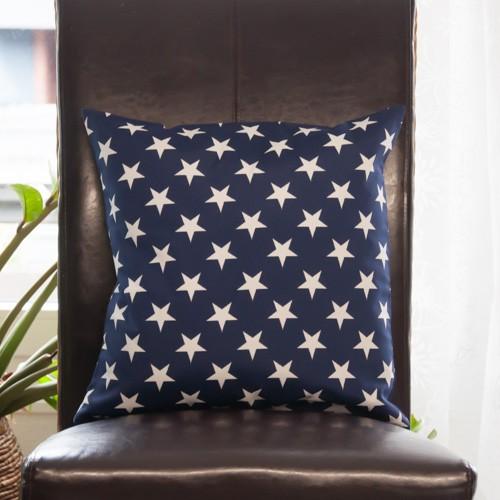Neckels Living Kissenhülle Sterne Weiß auf Blau KH/SterneWeiß/Blau-316