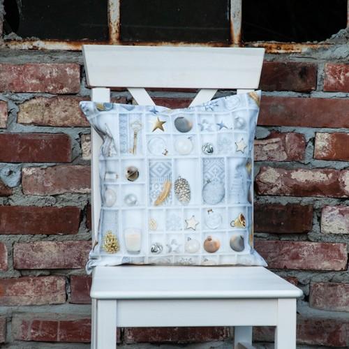 Neckels Living Kissenhülle White Christmas KH/WhiteChristm-35