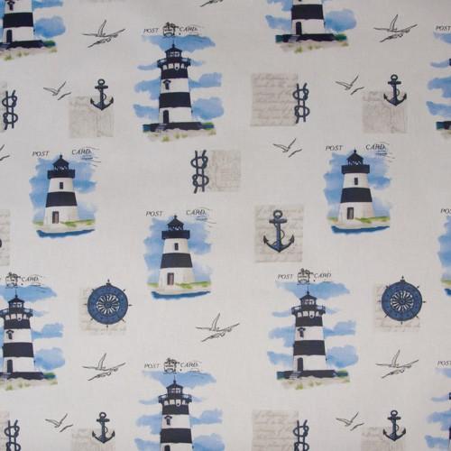 Neckels Living Maritim Leuchtturm BW Abwischbar ST/Leuchtt.abwb.-315