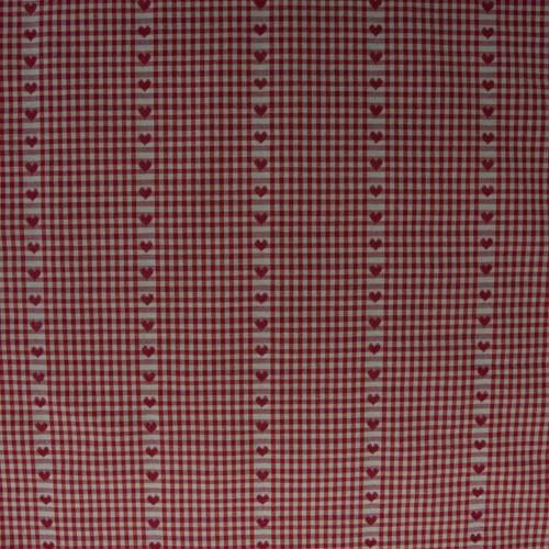 Neckels Living Vichy-Herzen, Rot BB/Vichy Herz Rot-30