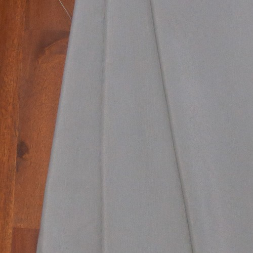 Neckels Living Uni-Stoff-Feinrips Silber-Grau Sw/uni-Silber-39