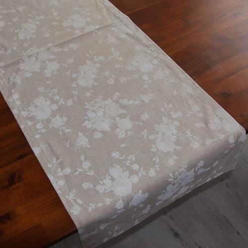 Neckels Living Tischläufer Kl.Weiße Rose TL/kl.W.Rose-38