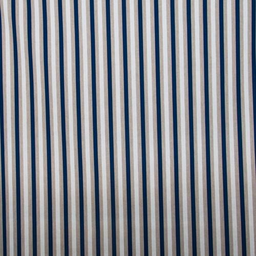 Neckels Living Kissenhülle Streifen Blau-Weiß KH/Streif Blauweiß-317