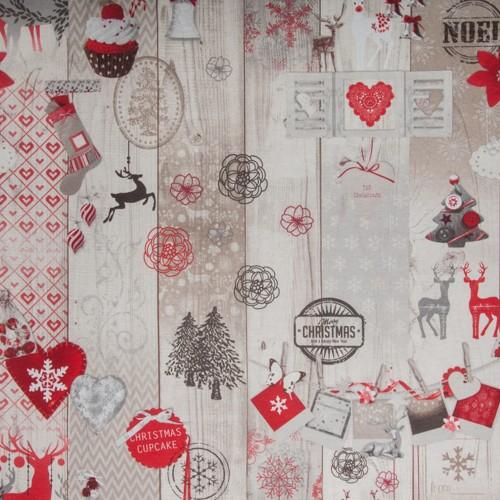 Neckels Living Kissenhülle Vintage Weihnacht KH/VintWeihnacht-312
