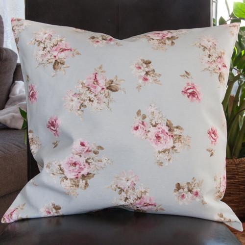 kissenh lle kleine rose auf hellblau neckels. Black Bedroom Furniture Sets. Home Design Ideas