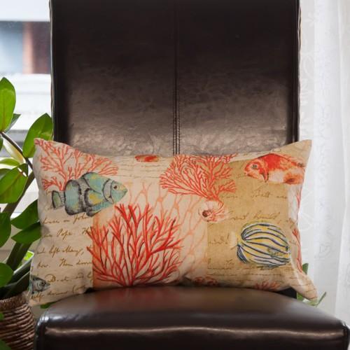 Kissenhülle Koralle | Neckels-living.de - Onlineshop für Stoffe ...