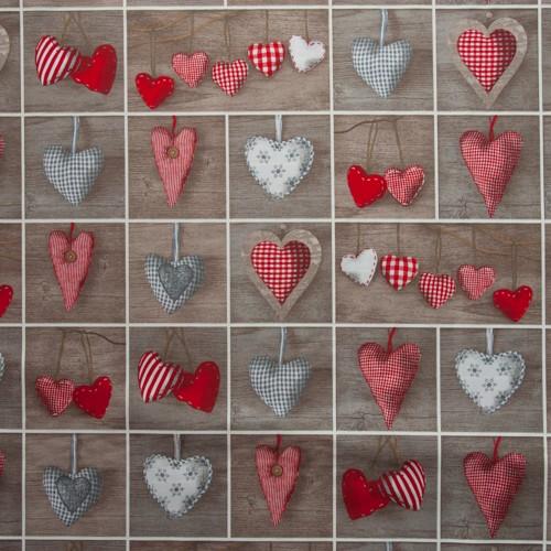 herzen patchwork neckels onlineshop f r stoffe handgemachte kissen tischl ufer. Black Bedroom Furniture Sets. Home Design Ideas