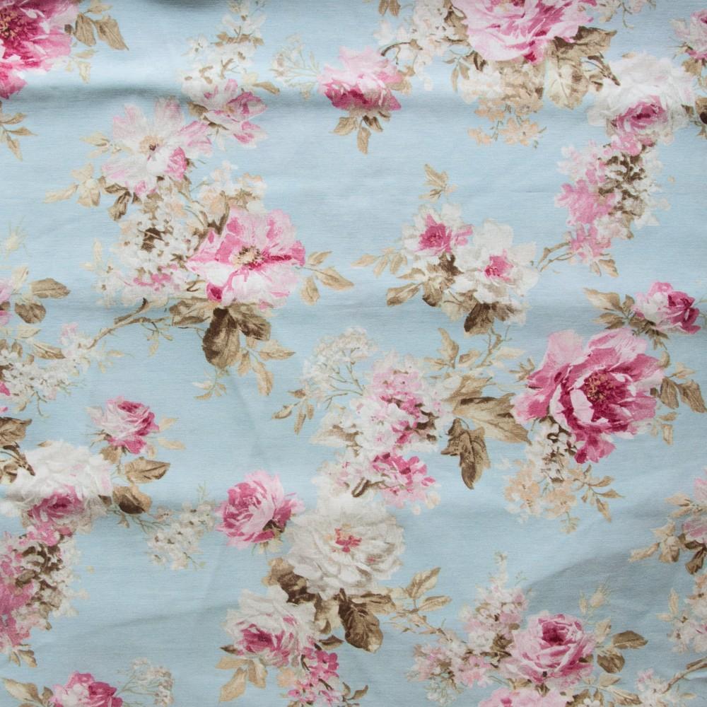 gro e rose auf hellblau neckels onlineshop. Black Bedroom Furniture Sets. Home Design Ideas