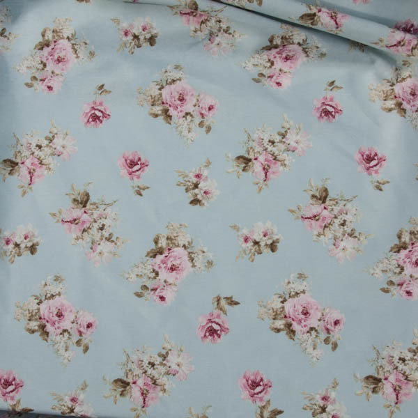 kleine rose auf hellblau neckels onlineshop. Black Bedroom Furniture Sets. Home Design Ideas