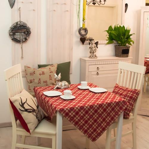 tischdecke hirsch karo neckels onlineshop. Black Bedroom Furniture Sets. Home Design Ideas
