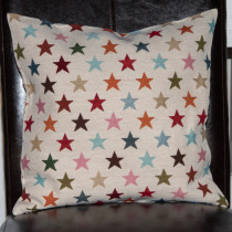 Kissenhülle Gobelin Sterne