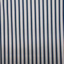 Maritim Streifen Blau-Weiß