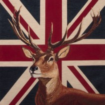Kissenhülle Britischer Hirsch