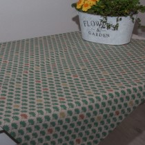 Tischdecke Grüne Blüten