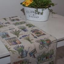 Tischläufer Gobelin Lavendel