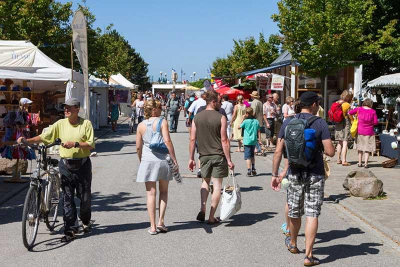 Handgemacht-Markt in Wustrow