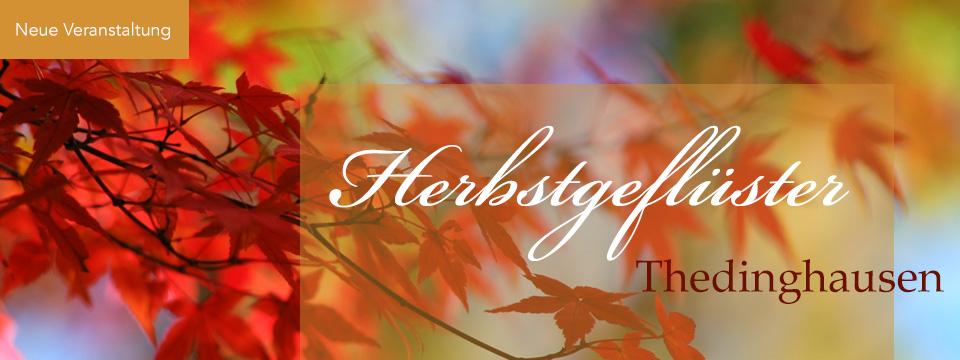 Herbstgeflüster Thedinghausen