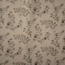 Kissenhülle Ramie Blätter Grau