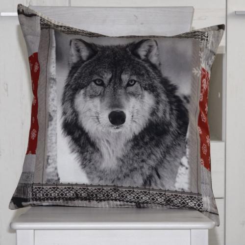 Neckels Living Kissenhülle Wolf 1 KH/Wolf1-313
