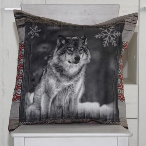 Neckels Living Kissenhülle Wolf 2 KH/Wolf2-314