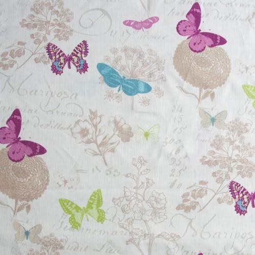 Neckels Living Tischdecke Leinen Schmetterling TD/LeiSchmetterling-310