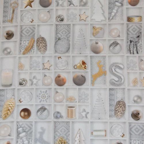 Neckels Living Digi-Druck,White Christmas BB/WhiteChristmas-316