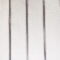 Baumwoll Streifen- Grau-Beige