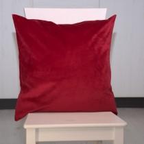 Kissenhülle Samt Rot