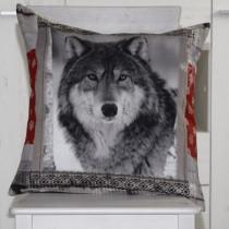 Kissenhülle Wolf 1