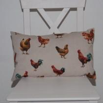 Kissenhülle Hühnerhof