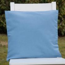 Kissenhülle Grau- Blau