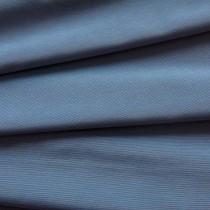 Uni-Stoff-Feinrips Grau-Blau