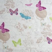 Leinen Druck, Schmetterling