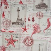 Maritim - Postkartenmotive, Rot