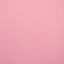 Tupfen Rosa - Weiß