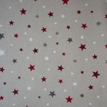Sterne Rot Glitzer