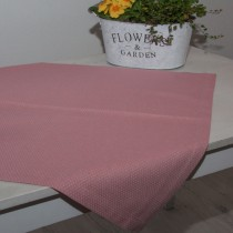 Tischdecke Rosa Raute