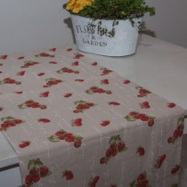 Tischläufer Erdbeeren
